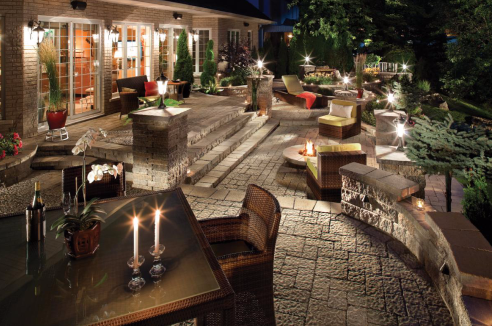 patios and outdoor living space design